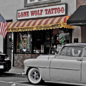 NY 360 Tours: Lone Wolf Tattoo
