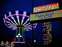NY 360 Tours: Adventureland Amusement Park